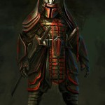 Boba Fett in Feudal Japan