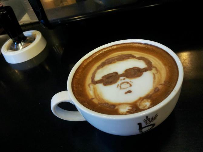 Gangnam Style Coffee