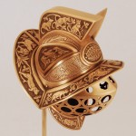 Gladiator Cat Helmet