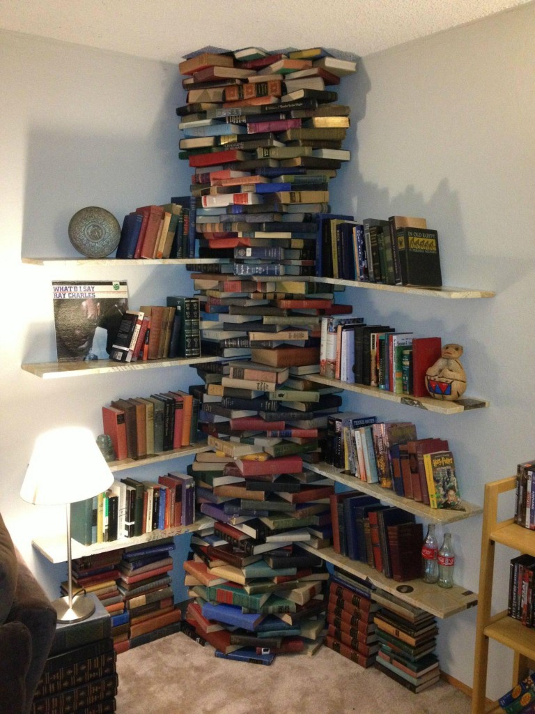 A Book Shelf...Made of Books