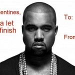 Kanye West valentines day card