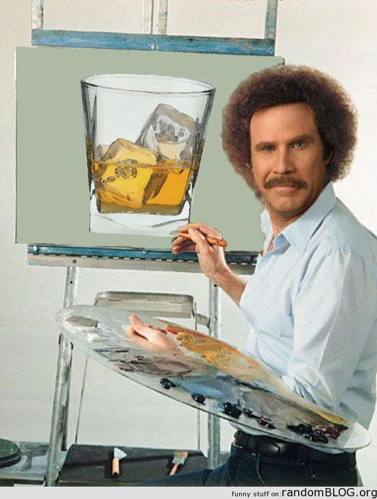Ron Burgundy Happy Scotch