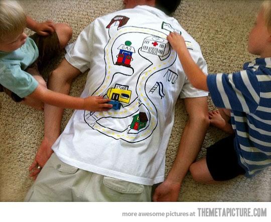 Back Massage T Shirt