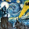 The Starry Dark Knight