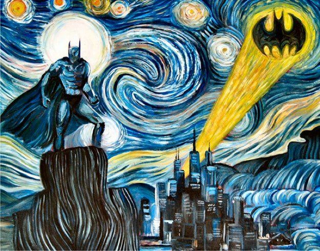 The Dark Starry Knight